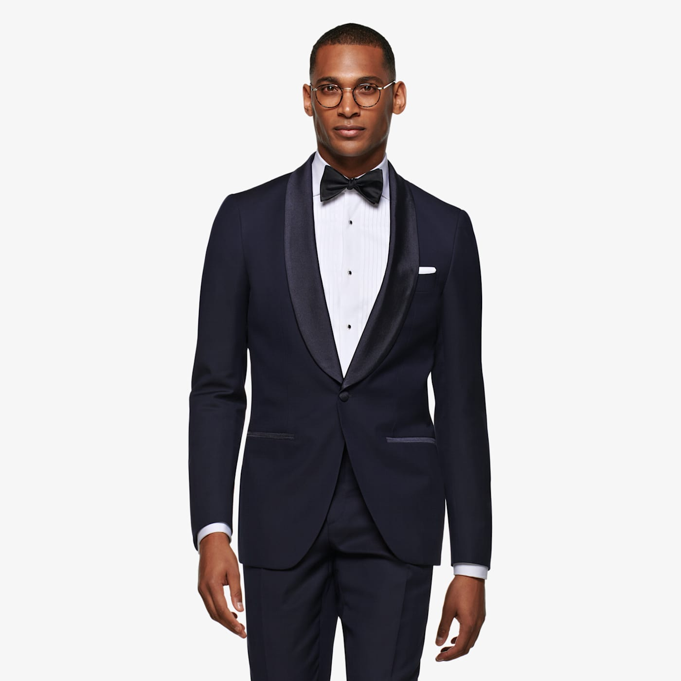 New Vintage Tuxedos, Tailcoats, Morning Suits, Dinner Jackets Navy Havana Tuxedo Suit $599.00 AT vintagedancer.com