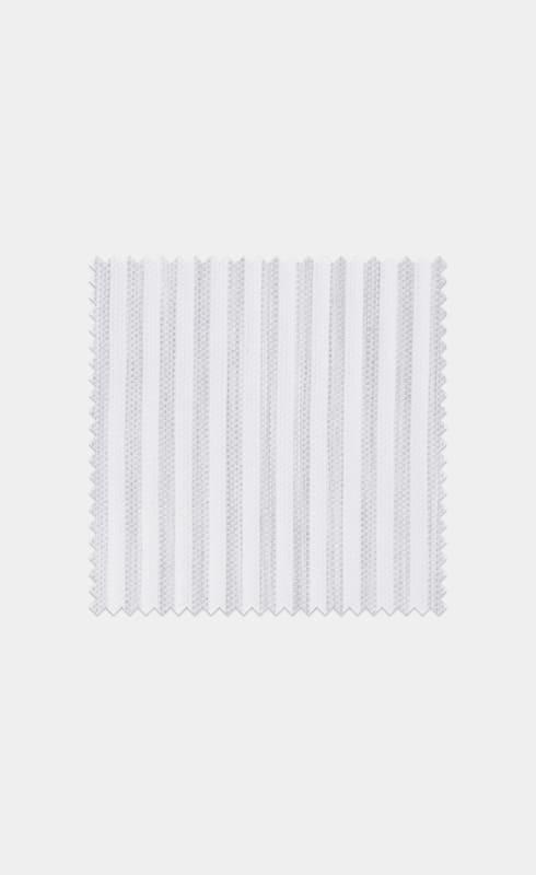 Grey Stripe Egyptian Cotton