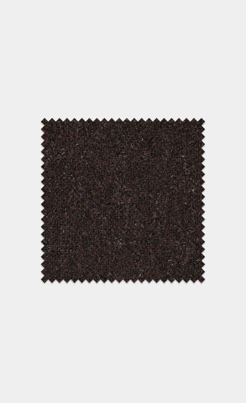 Dark Brown Pure Wool