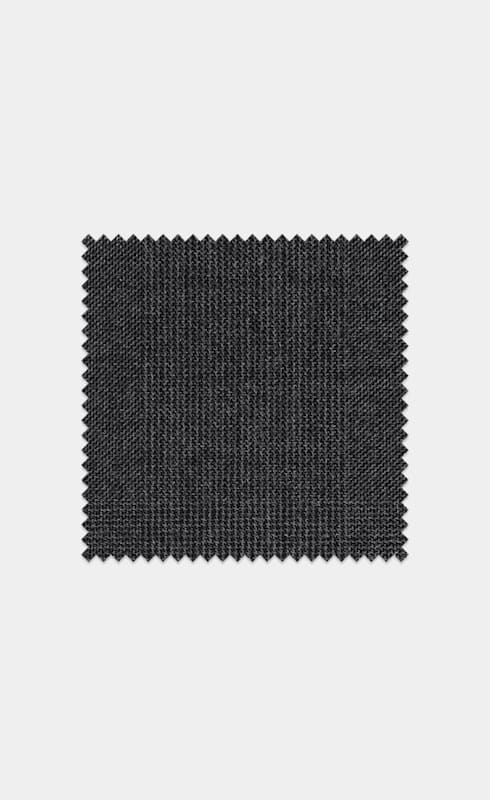 Mid Grey Check Pure Wool S110's