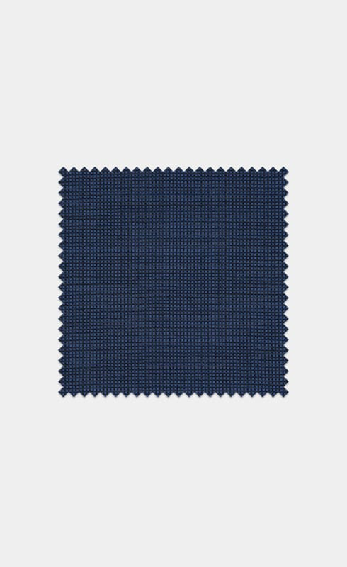 Mid Blue Pure Wool