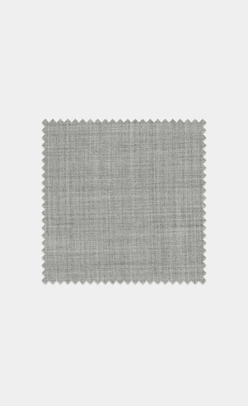 Light Grey Pure S120's Tropical Wool
