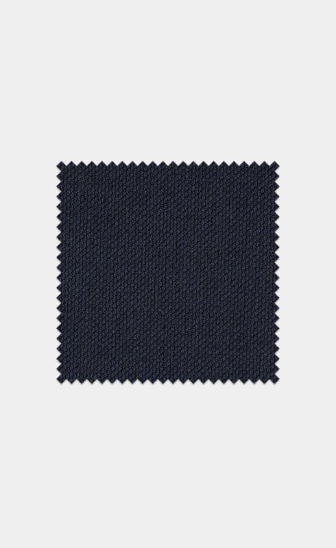 Navy Bird's Eye Pure Wool S130's