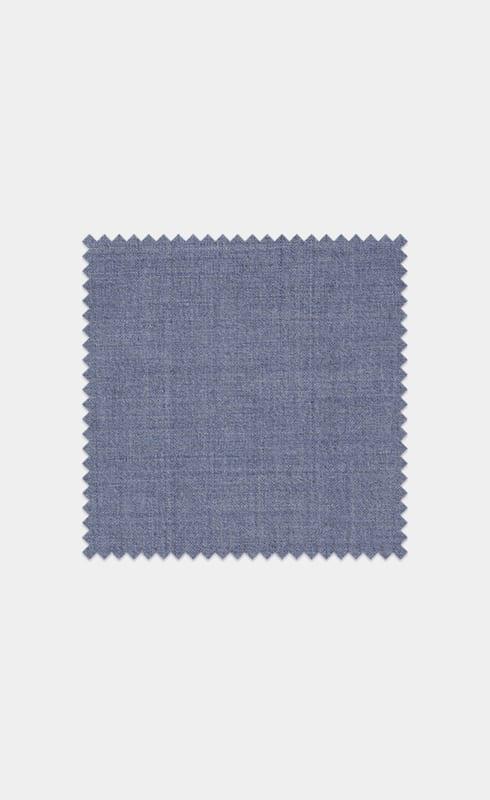 Light Blue Pure Wool