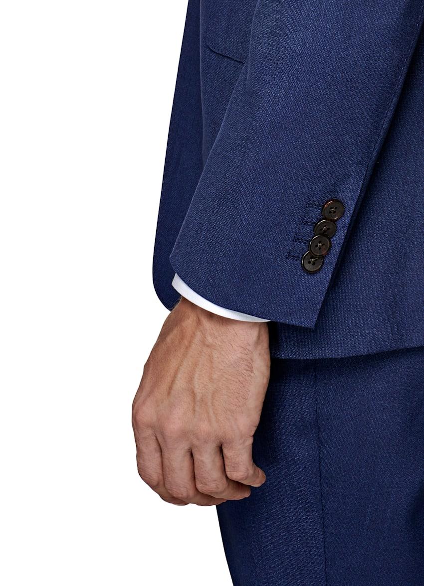 Homme Gibson Costume Marriot bleu pâle coupe ajustée 42 s W36 L31