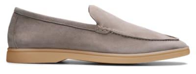 Grey Slip-ons