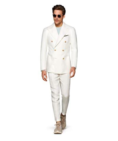Off White Havana Suit
