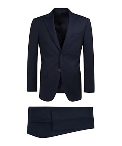 Navy Stripe Napoli Suit