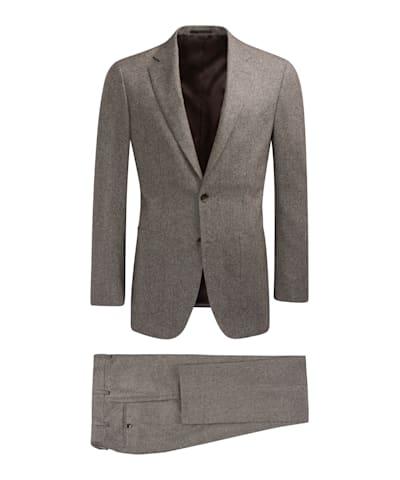 Mid Brown Havana Suit
