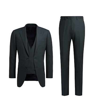 Mid Green Lazio Suit