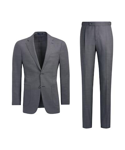 Mid Grey Havana Suit