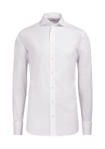 White Pinpoint Oxford Extra Slim Fit Shirt