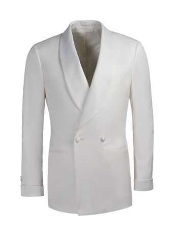 White Washington Tuxedo Jacket