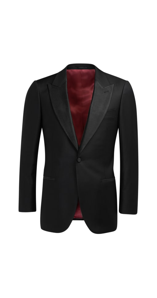 Black Lazio Tuxedo Jacket